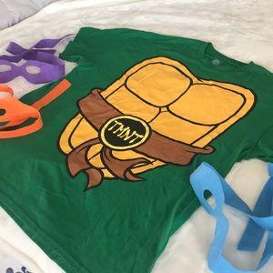 Halloween 🎃 Ninja Turtle Costume